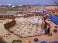 Cung cấp vữa tự chảy không co ngót HT Construction Grout công trình Viettinbank Tower - Ciputra Hà Nội