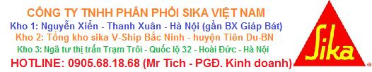 TỔNG KHO SIKA BẮC NINH - VPGD tại Hà Nội